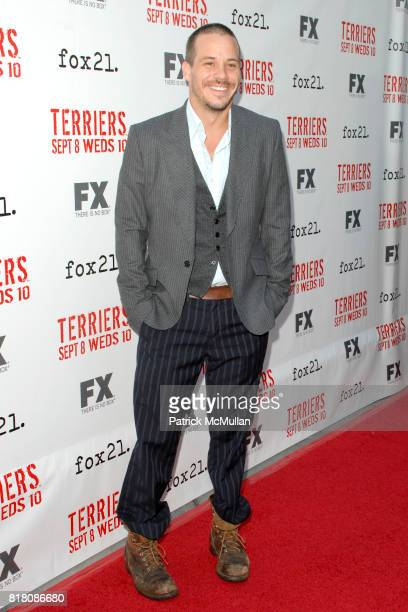 Michael James attend Screening Of FX's 'Terriers' at ArcLight Cinemas on September 7th 2010 in Hollywood California