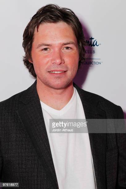 Michael Johns attends the 6th Annual KSwiss Desert Smash Day 1 at La Quinta Resort and Club on March 9 2010 in La Quinta California