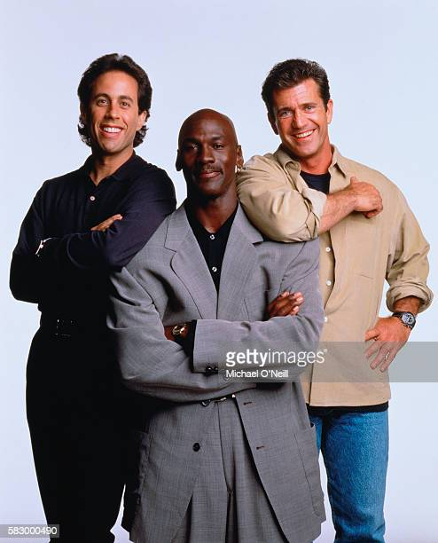Michael Jordan Jerry Seinfeld and Mel Gibson
