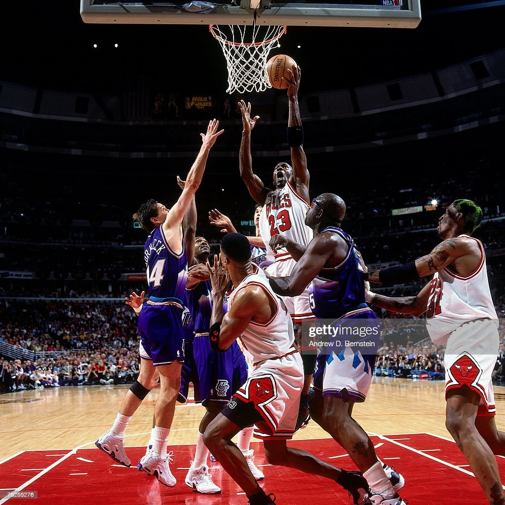1998 NBA Finals Game 5 Utah Jazz vs Chicago Bulls
