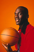 Michael Jordan of the Chicago Bulls poses for a portrait circa 19841998