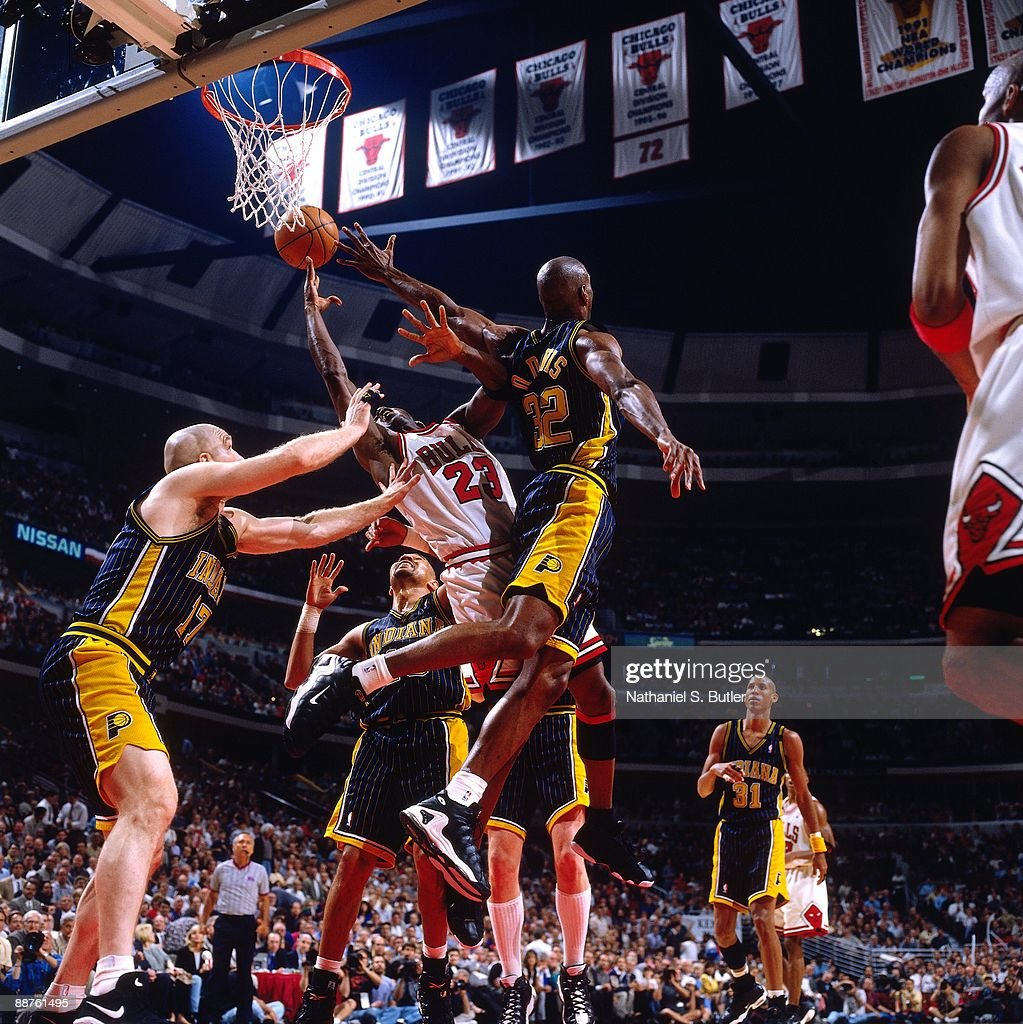 1998 Eastern Conference Finals Game 2 Indiana Pacers vs Chicago