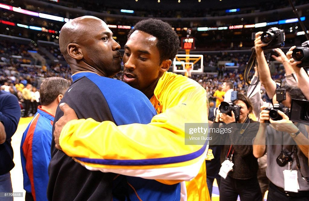 lwxhqy Michael Jordan (L) of the Washington Wizards and K Pictures