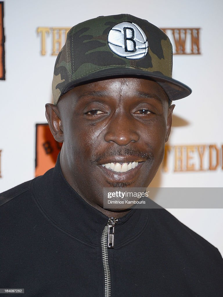 Michael K Williams attends the 'They Die By Dawn' New York Screening at Tribeca Cinemas on March 19 2013 in New York City