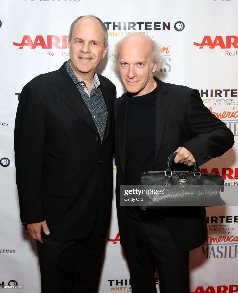 Michael Kantor and Timothy GreenfieldSanders attend American Masters The Boomer List NYC Premiere on September 18 2014 in New York City