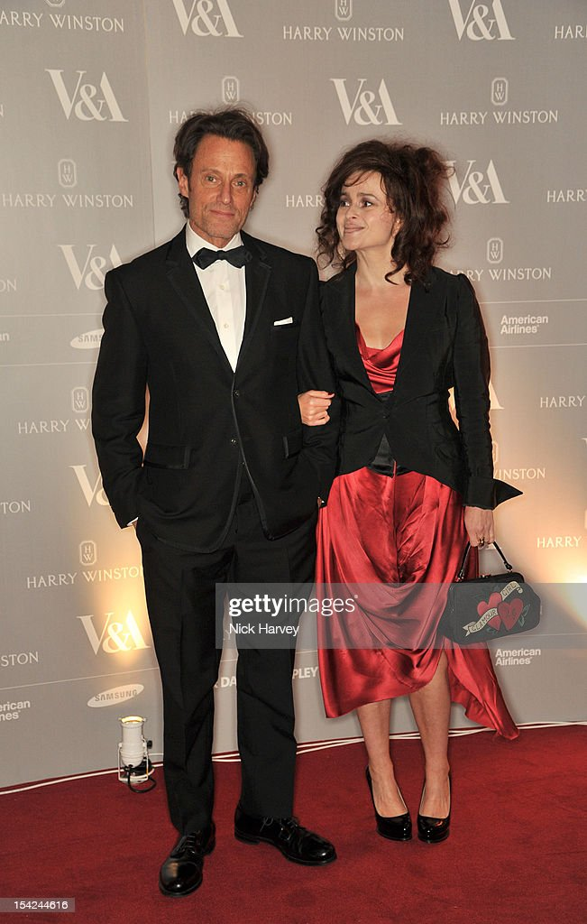 Michael Kaplan (L) and <a gi-track='captionPersonalityLinkClicked' href=/galleries/search?phrase=Helena+Bonham+Carter&family=editorial&specificpeople=210567 ng-click='$event.stopPropagation()'>Helena Bonham Carter</a> attend the Hollywood Costume gala dinner at the Victoria & Albert Museum on October 16, 2012 in London, England.