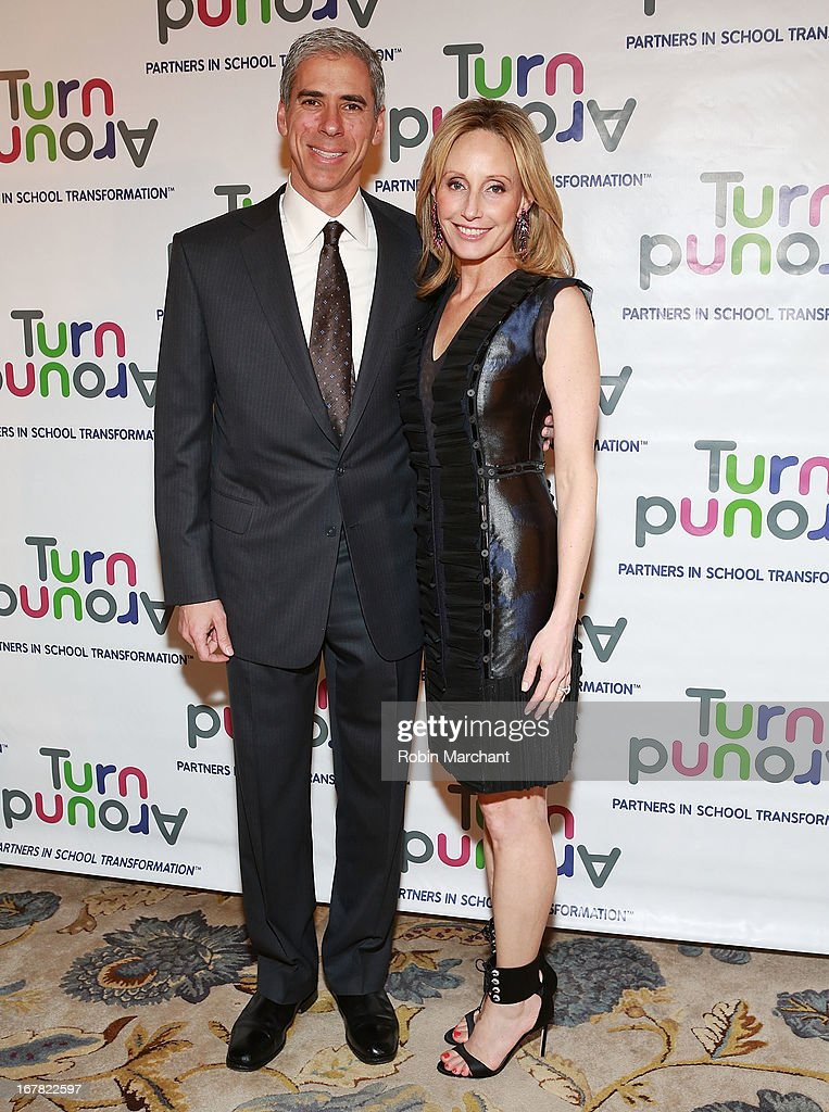 Michael Karsch (L) and Erica Karsch attend Turnaround for Children 4th Annual Impact Awards Gala at The Plaza Hotel on April 30, 2013 in New York City.