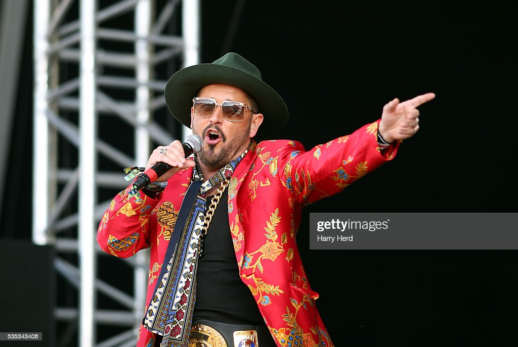 Michael Keat of The Cuban Brothers performs at Common People Festival at Southampton Common on May 29, 2016 in Southampton, England.