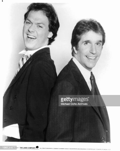 Michael Keaton and Henry Winkler the film 'Night Shift' 1982