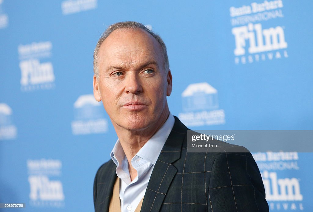 Michael Keaton arrives at the American Riviera Award during The 31st Santa Barbara International Film Festival held at Arlington Theatre on February 5, 2016 in Santa Barbara, California.