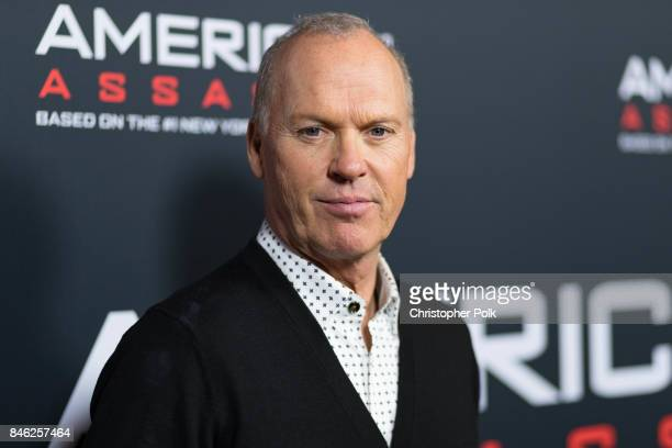 Michael Keaton arrives to the screening of CBS Films And Lionsgate's 'American Assassin' at TCL Chinese Theatre on September 12 2017 in Hollywood...