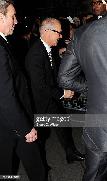 Michael Keaton attends the Charles Finch CHANEL PreBAFTA party at Annabel's on February 7 2015 in London England