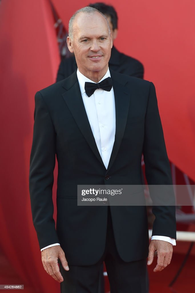 Michael Keaton attends the Opening Ceremony and 'Birdman' premiere during the 71st Venice Film Festival at Palazzo Del Cinema on August 27, 2014 in Venice, Italy.