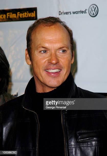 Michael Keaton during 2005 Sundance Film Festival 'Game 6' Premiere at Eccles Theatre in Park City Utah United States