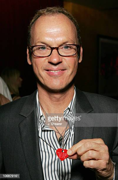 Michael Keaton during Ace of Hearts' First Annual Hollywood Dog Bowl Hosted by Mandy Moore at Lucky Strike Lanes in Hollywood California United States