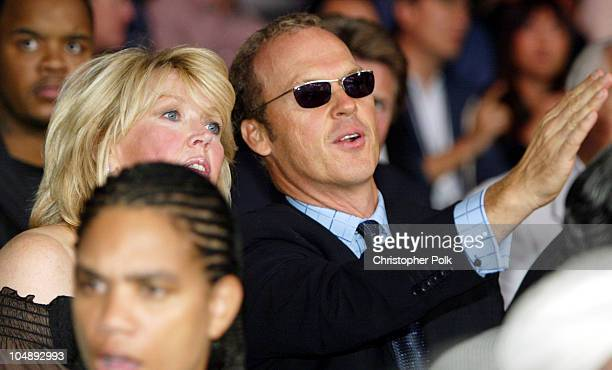 Michael Keaton during Shane Mosley vs Oscar De LaHoya at MGM Grand Garden Arena in Las Vegas NV United States