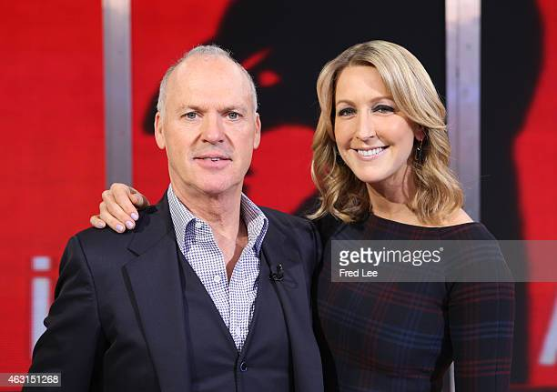 AMERICA Michael Keaton is a guest on 'Good Morning America' 2/11/15 airing on the ABC Television Network