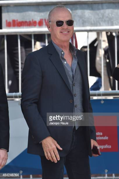 Michael Keaton is seen during The 71st Venice International Film Festival on August 27 2014 in Venice Italy