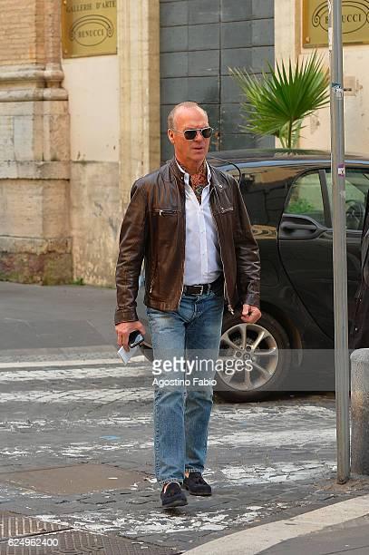 Michael Keaton is seen on November 21 2016 in Rome Italy