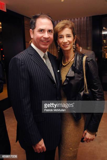Michael Kennelly and Erica Kasel attend Chanel Fine Jewelry Beverly Hills Dinner at Chanel Boutique on November 11 2009