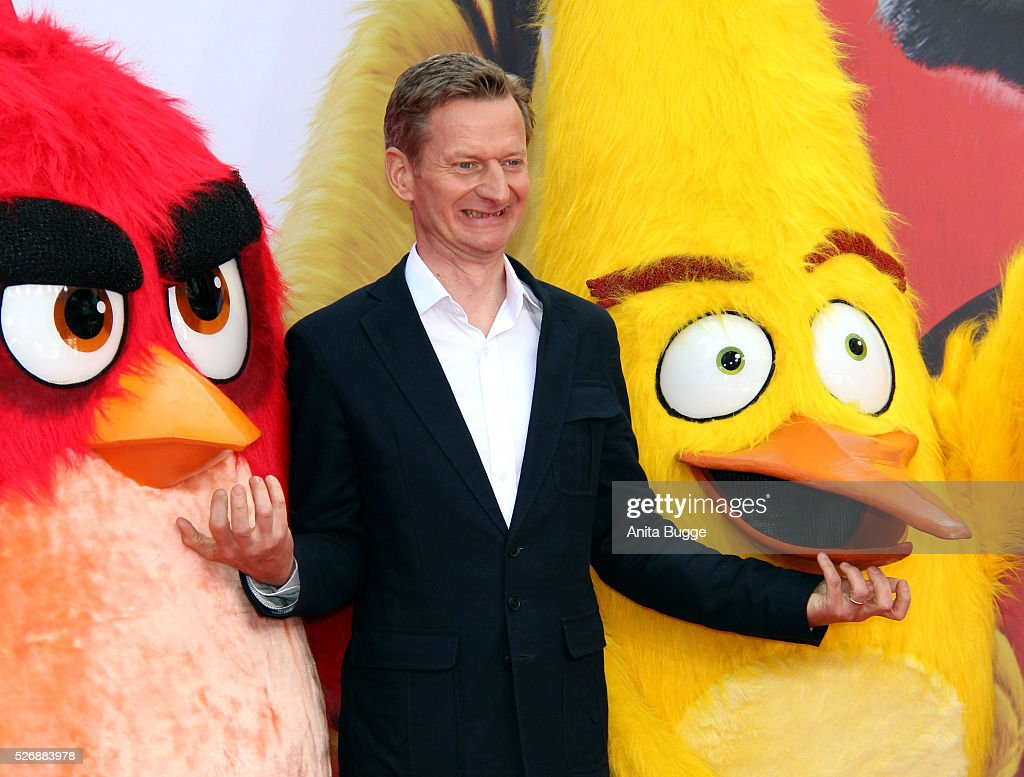 Michael Kessler attends the Berlin premiere of the film 'Angry Birds - Der Film' at CineStar on May 1, 2016 in Berlin, Germany.