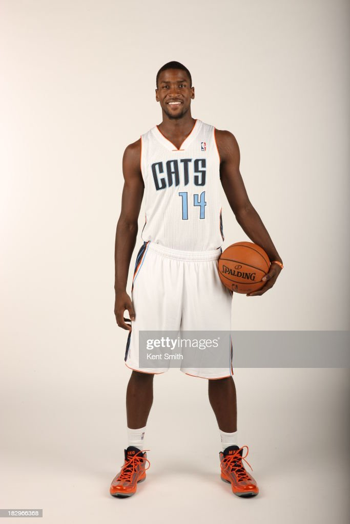 Michael Kidd-Gilchrist #14 of the Charlotte Bobcats poses for a portrait on media day at the Time Warner Cable Arena on September 30, 2013 in Charlotte, North Carolina.