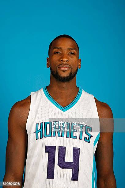 Michael KiddGilchrist of the Charlotte Hornets poses for a head shot during the 20162017 Charlotte Hornets Media Day at the Time Warner Cable Arena...