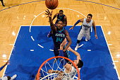 Michael KiddGilchrist of the Charlotte Hornets shoots against the Orlando Magic on January 3 2015 at Amway Center in Orlando Florida NOTE TO USER...