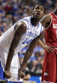 Michael KiddGilchrist of the Kentucky Wildcats during the SEC game against the Arkansas Razorbacks at Rupp Arena on January 17 2012 in Lexington...