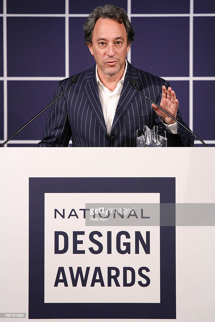 Michael Kimmelman attends the 2013 Cooper-Hewitt National Design Awards at Pier 60 on October 17, 2013 in New York City.