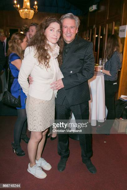 Michael Kind and partner Ursula Andermatt attends the 7th Diabetes Charity Gala at TIPI am Kanzleramt on October 26 2017 in Berlin Germany