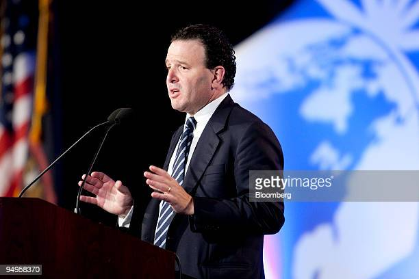 Michael Klein former vicechairman of Citigroup Inc speaks at a session on innovation during the National Summit in Detroit Michigan US on Wednesday...