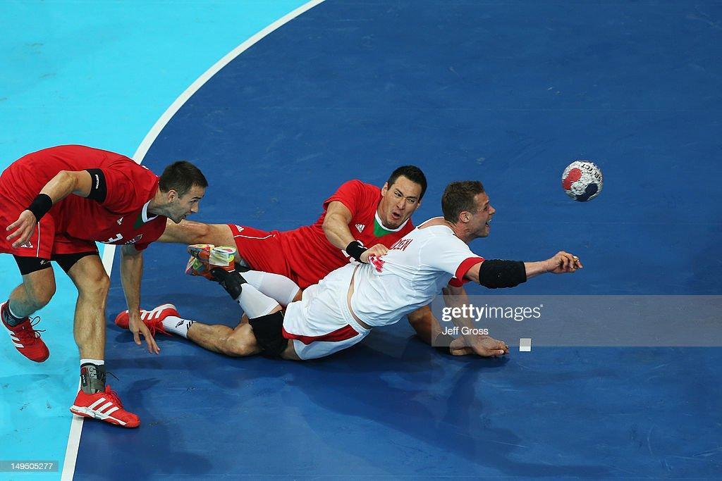 Olympics Day 2 - Handball