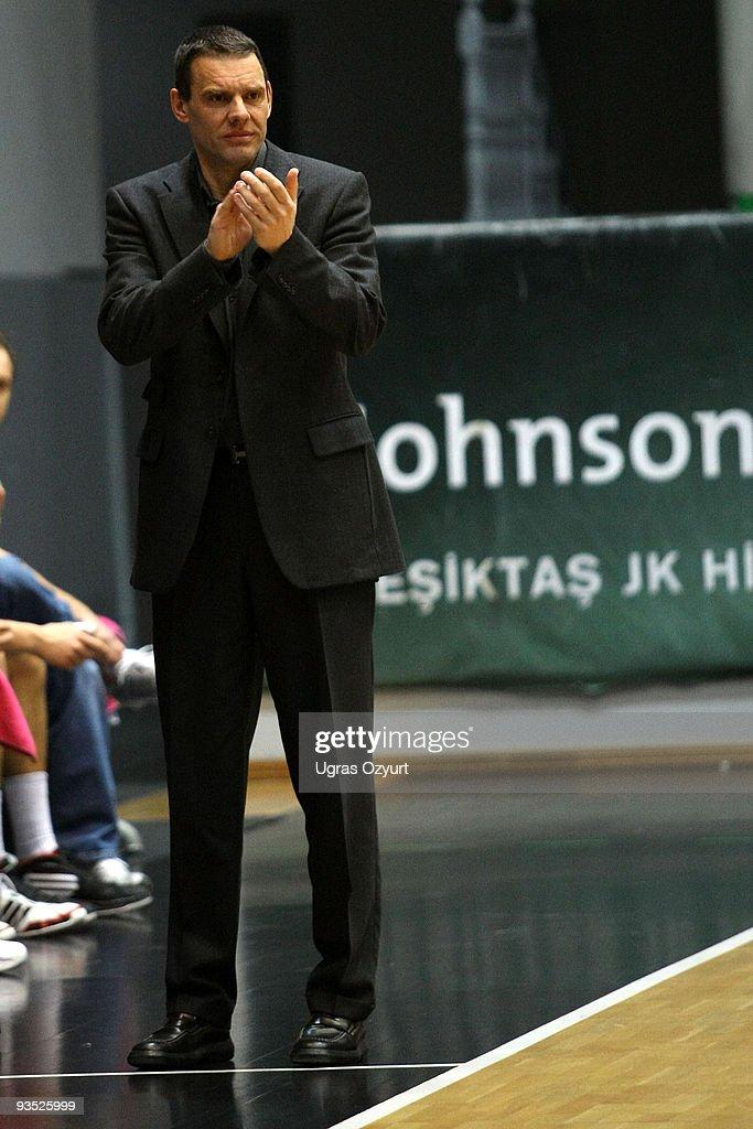 Michael Koch Head Coach of Telecom Baskets Bonn during the Eurocup Basketball Regular Season Game Day 2 between Besiktas Cola Turka and Telekom...