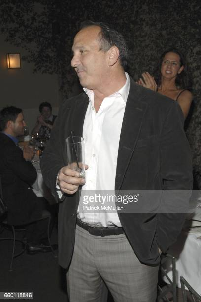 Michael Kohn and Jason Biggs attend SHE Images of women by Wallace Berman and Richard Prince Opening at Michael Kohn Gallery on January 15 2009 in...