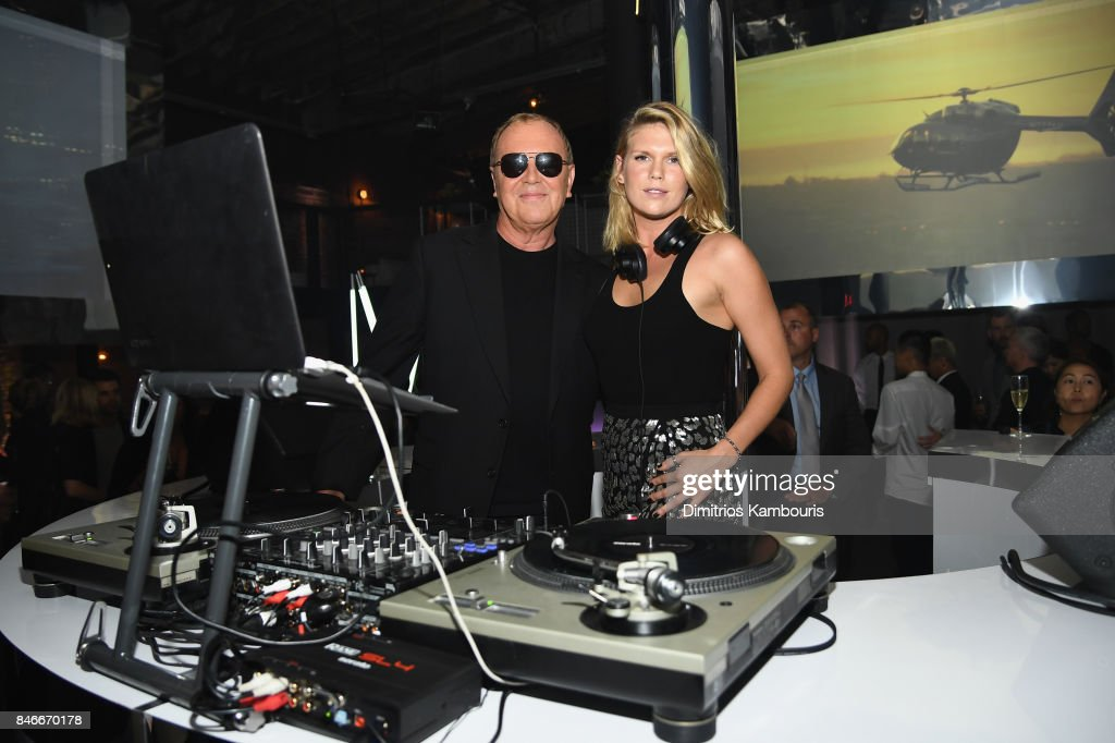 Michael Kors and Alexandra Richards attend Michael Kors and Google Celebrate new MICHAEL KORS ACCESS Smartwatches at ArtBeam on September 13, 2017 in New York City.