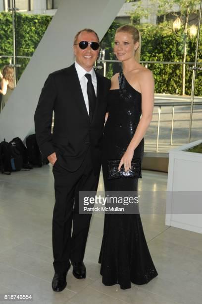 Michael Kors and Gwyneth Paltrow attend 2010 CFDA Awards Arrivals at Alice Tully Hall on June 7 2010 in New York City