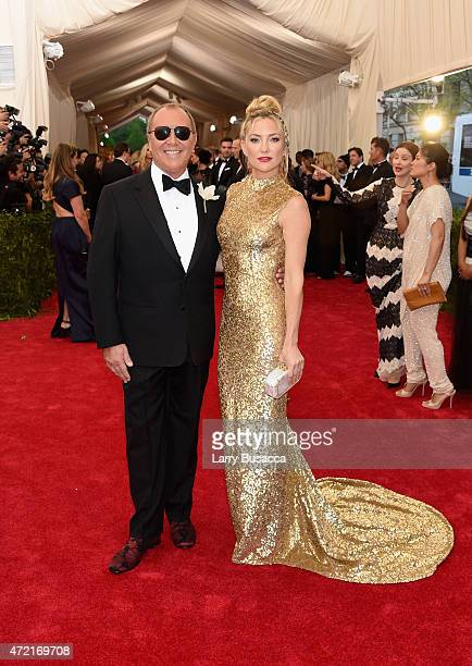 Michael Kors and Kate Hudson attend the 'China Through The Looking Glass' Costume Institute Benefit Gala at the Metropolitan Museum of Art on May 4...
