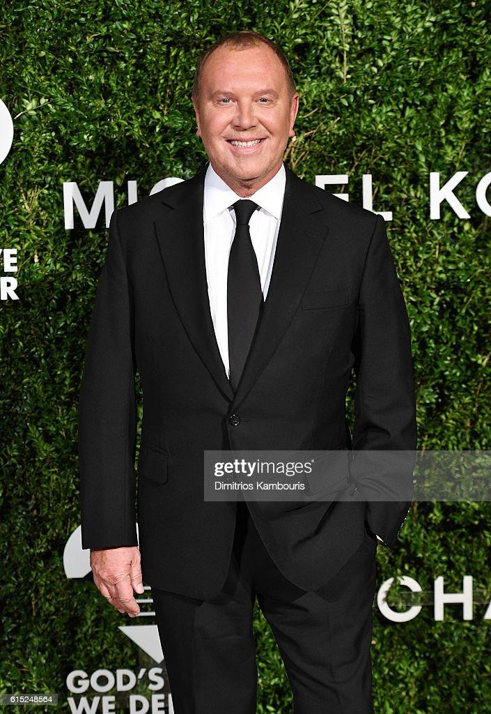 Michael Kors attends the God's Love We Deliver Golden Heart Awards on October 17, 2016 in New York City.