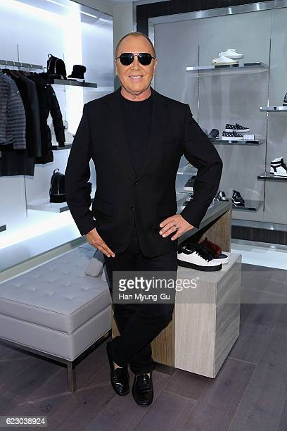 Michael Kors attends the Michael Kors Cheongdam Flagship Store Opening Cocktail Party on November 12 2016 in Seoul South Korea