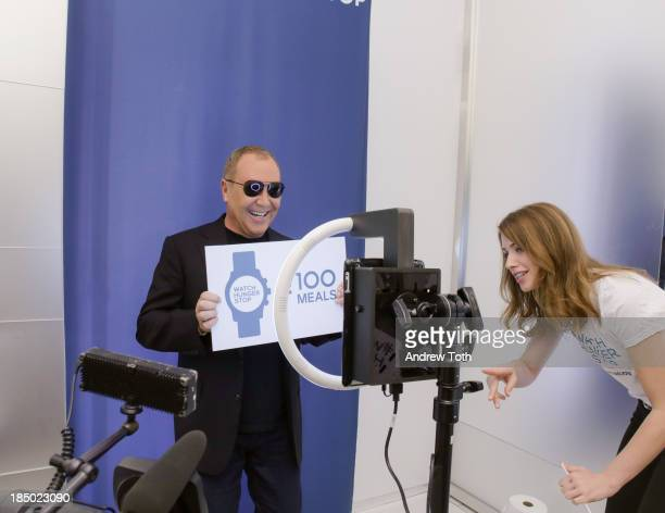 Michael Kors attends the World Food Day Event at Rockefeller Center on October 16 2013 in New York City