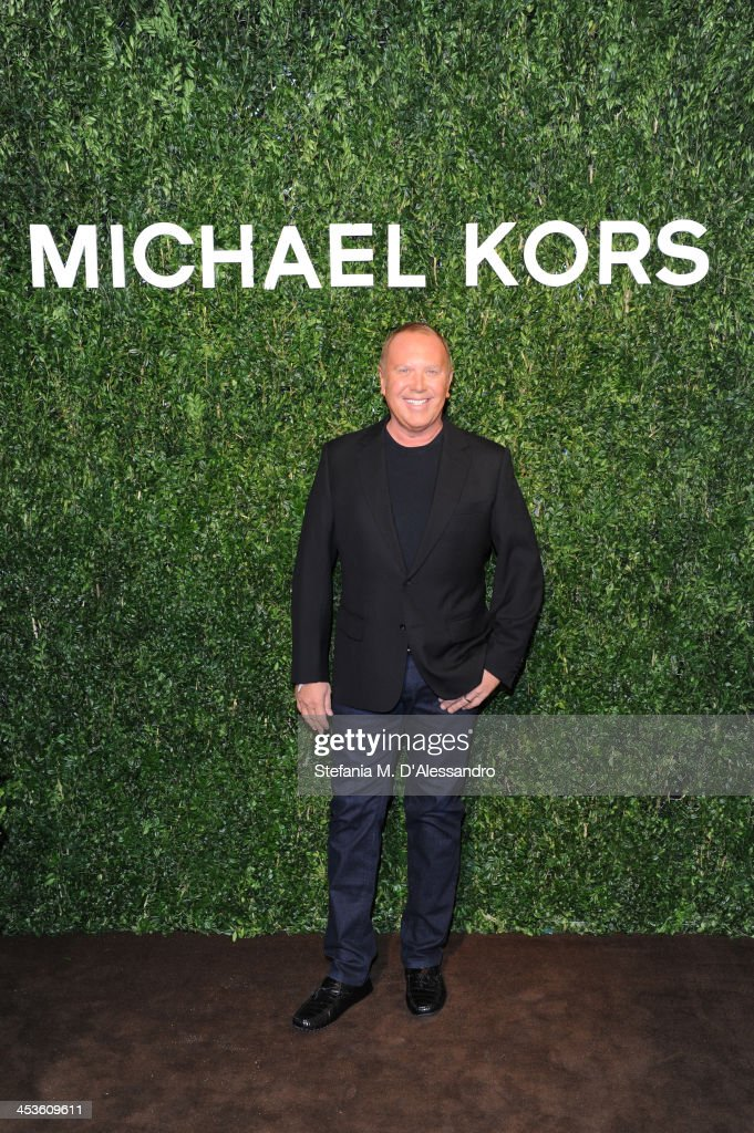 Michael Kors celebrates Milano opening on December 4, 2013 in Milan, Italy.
