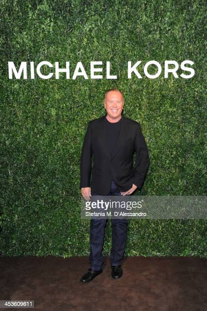 Michael Kors celebrates Milano opening on December 4 2013 in Milan Italy