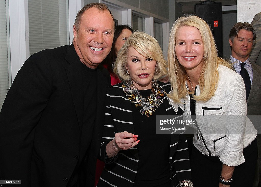 <a gi-track='captionPersonalityLinkClicked' href=/galleries/search?phrase=Michael+Kors+-+Fashion+Designer&family=editorial&specificpeople=4289231 ng-click='$event.stopPropagation()'>Michael Kors</a>, <a gi-track='captionPersonalityLinkClicked' href=/galleries/search?phrase=Joan+Rivers&family=editorial&specificpeople=159403 ng-click='$event.stopPropagation()'>Joan Rivers</a> and <a gi-track='captionPersonalityLinkClicked' href=/galleries/search?phrase=Blaine+Trump&family=editorial&specificpeople=214124 ng-click='$event.stopPropagation()'>Blaine Trump</a> attend the launch of the God's Love We Deliver Expansion Project on October 2, 2013 in New York City.
