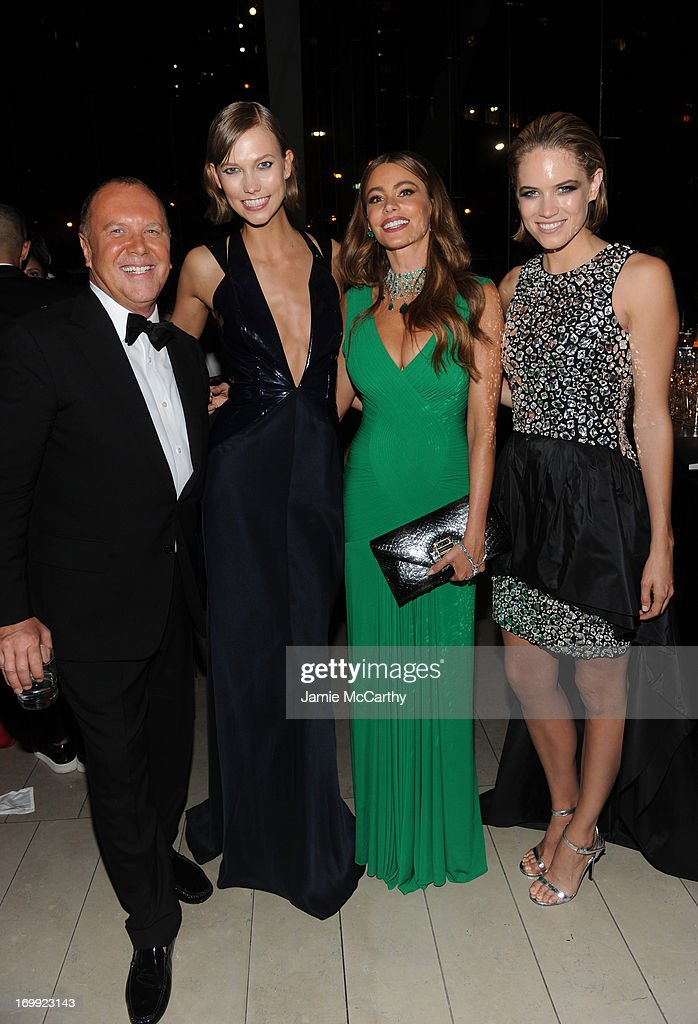 Michael Kors, Karlie Kloss, Sofia Vergara, and Cody Horn attend the 2013 CFDA Fashion Awards on June 3, 2013 in New York, United States.