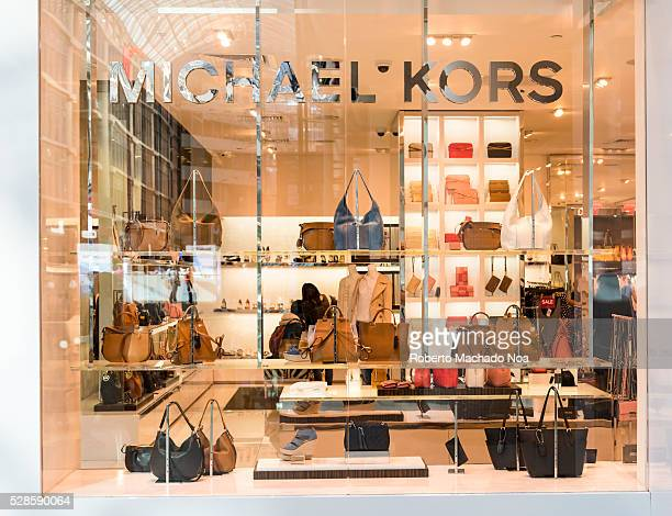 MIchael Kors store in Eaton Center The brand is an American luxury fashion known for handbags and accessories