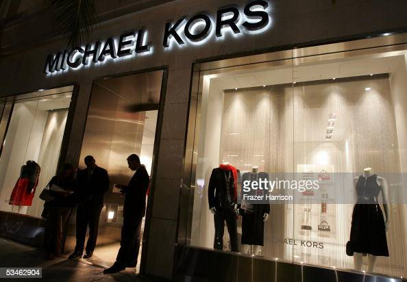 Michael Kors store where Heidi Klum's and Michael Kors hosted Stylish Summer Bash Cocktail party to celebrate the reality television show ' Project...