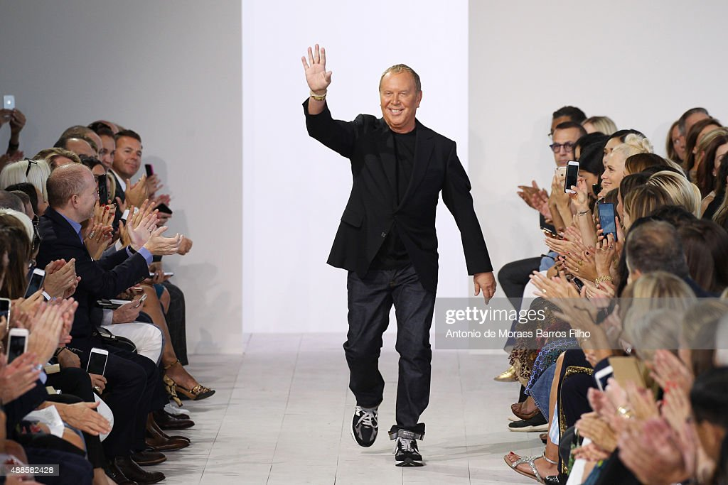 Michael Kors walks the runway during the Michael Kors show as a part of Spring 2016 New York Fashion Week at Spring Studios on September 16, 2015 in New York City.