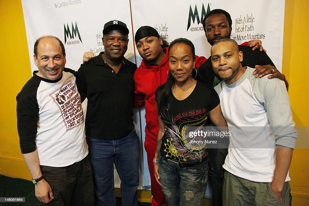Michael Kostroff, Isiah Whitlock Jr., Julito McCullum, Sonja Sohn, Jamie Hector and JD Williams attend the Moving Mountains Celebrity Paintball Tournament at NYC Paintball And Laser Tag on June 9, 2012 in New York City.