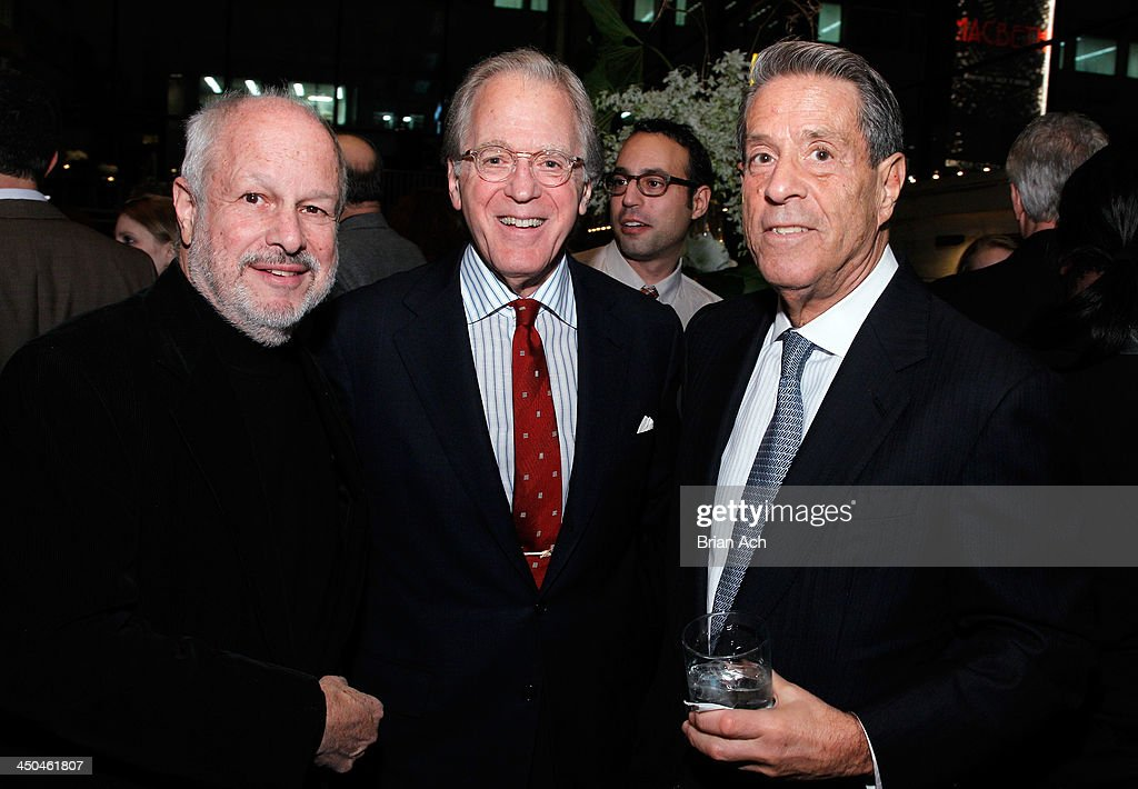 Michael Kramer (L) and Board of Director Michael A. Steinberg (R) attend The 2013 Steinberg Playwright 'Mimi' Awards presented by The Harold and Mimi Steinberg Charitable Trust at Lincoln Center Theater on November 18, 2013 in New York City.
